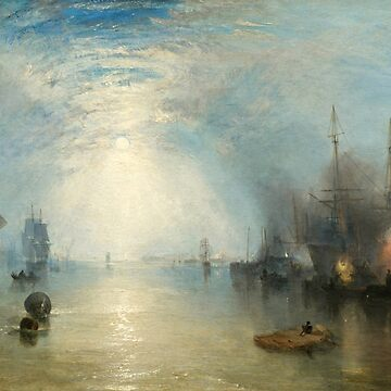 "Joseph Mallord William Turner ""Keelmen Heaving in Coals by Moonlight"" by ALD1"