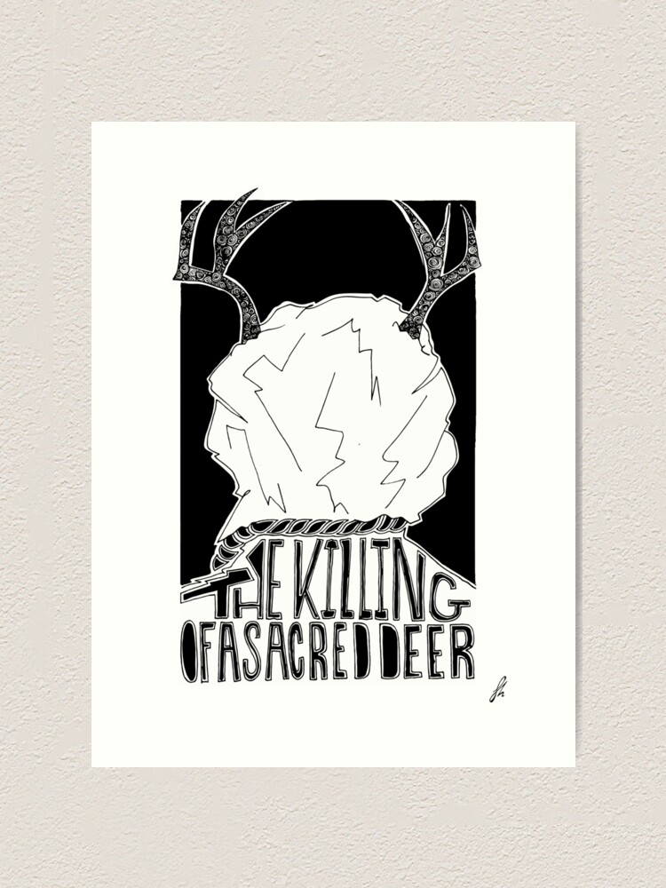 The Killing Of A Sacred Deer Alternative Movie Poster Art Print By Damnfinecuppa Redbubble