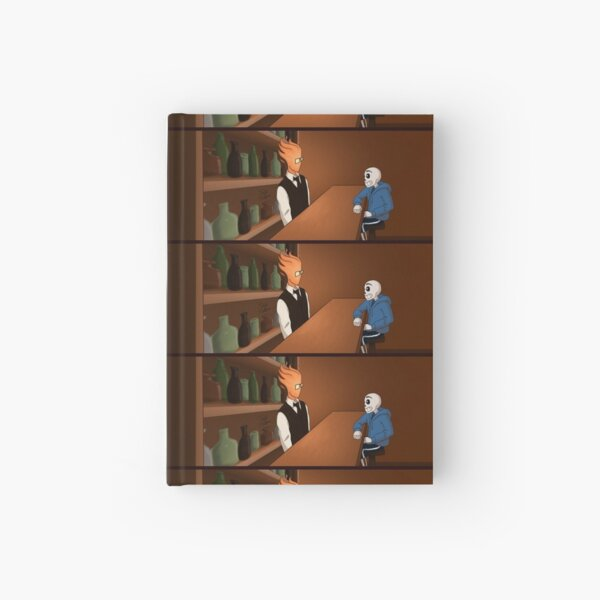 Sansby Awkward Silence Hardcover Journal