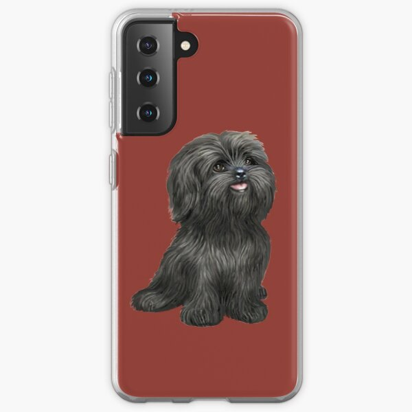 Shih Tzu - Black cutie Samsung Galaxy Soft Case