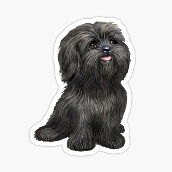 Shih Tzu - Black cutie Sticker