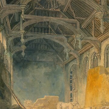 "Joseph Mallord William Turner ""Interior of St. John's Palace, Eltham"" by ALD1"