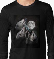 3 Opossum Mond Langarmshirt