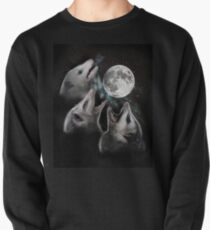 3 Opossum Mond Sweatshirt