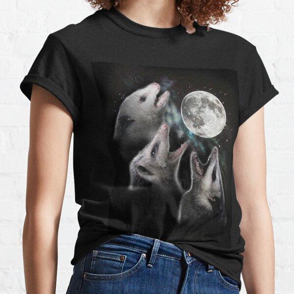 3 Opossum Mond Classic T-Shirt