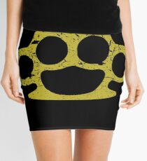 Brass Knuckles Mini Skirt