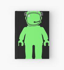 Banksy Style Astronaut Minifigure Notizbuch