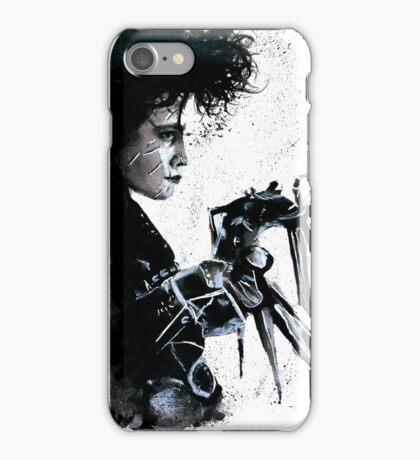 Scissorhands Splatter iPhone Case/Skin