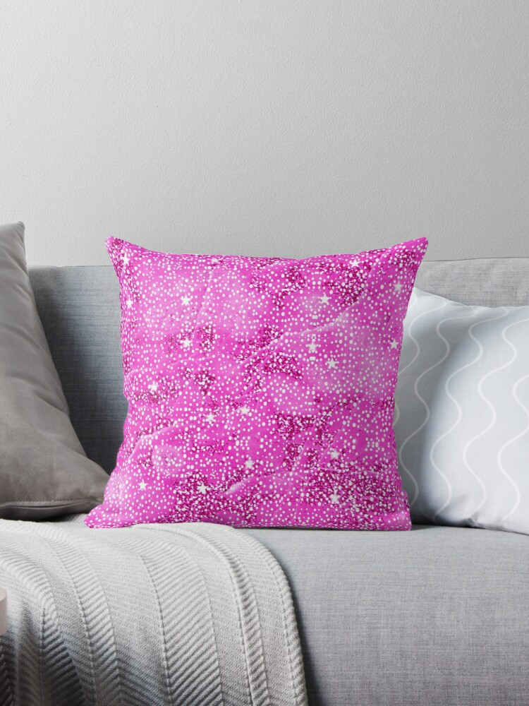 RB12, Bling, Print, Star Cluster-Hot Pink by Melody Koert