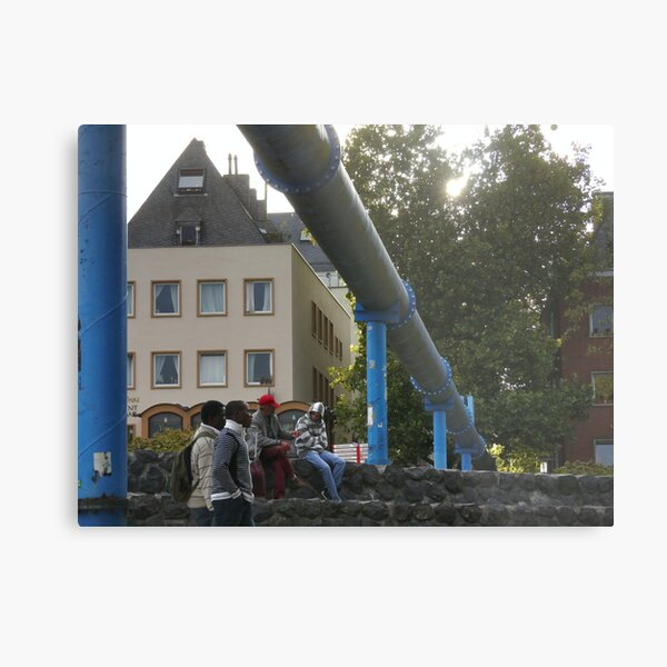 Wasserbau and hangout Metal Print