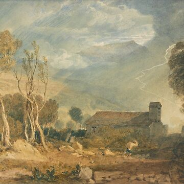 "Joseph Mallord William Turner ""Ingleborough From Chapel Le Dale"" by ALD1"