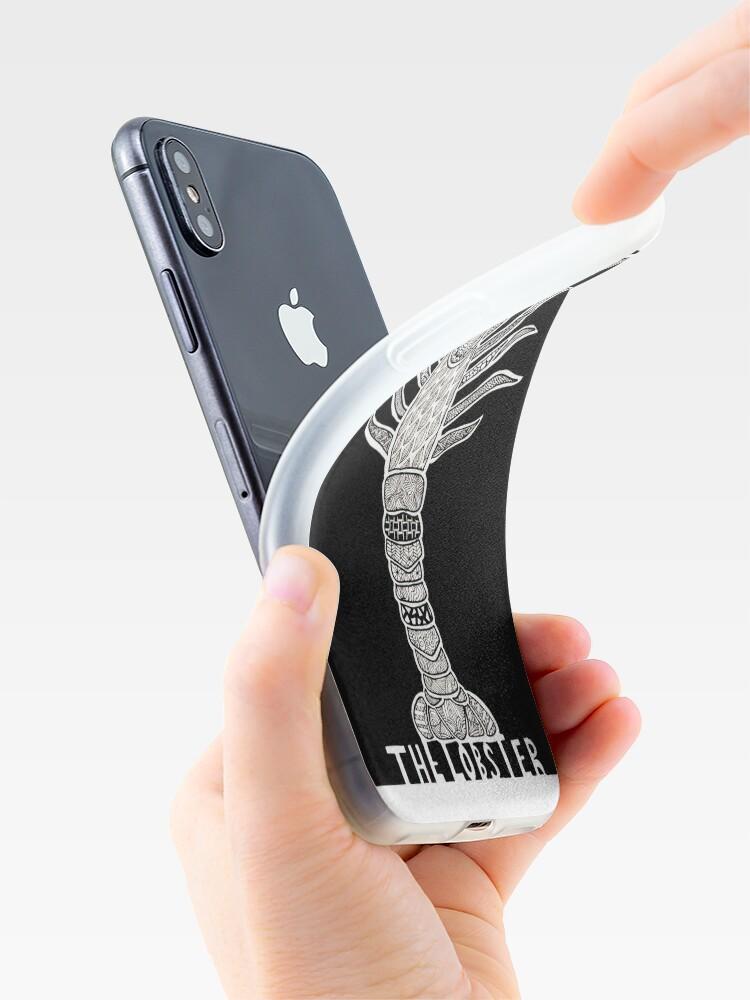 Alternative Ansicht von Der Hummer - alternatives Filmplakat iPhone-Hülle & Cover
