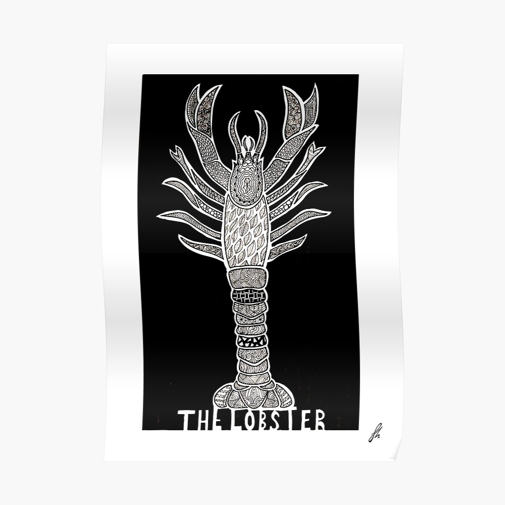 Der Hummer - alternatives Filmplakat Poster