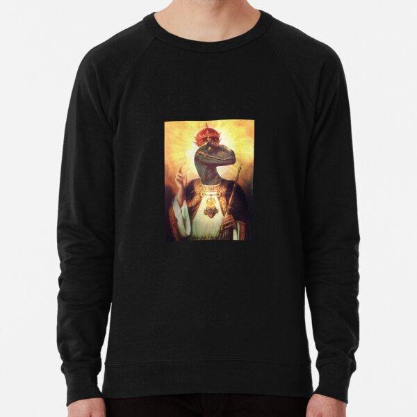 Raptor Jesus Lightweight Sweatshirt