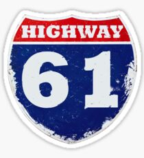 Highway 61 Revisited Sticker