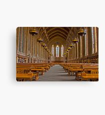 Suzzallo Library (University of Washington) (HDR Version 2) Canvas Print
