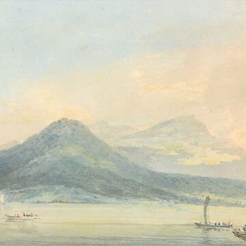 "Joseph Mallord William Turner ""From the Isola Borromena, Lago Maggiore"" by ALD1"