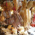 Dried fish at Tai O Market, Lantau Island, Hong Kong by Camelot