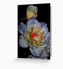 Fractalius Rose Greeting Card