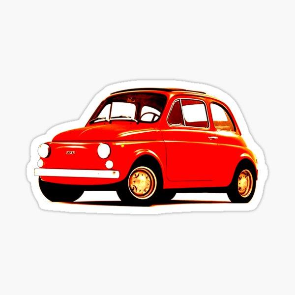 Fiat 500 d'origine Sticker