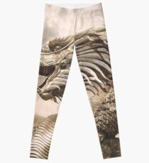 Golden Dragon Legging