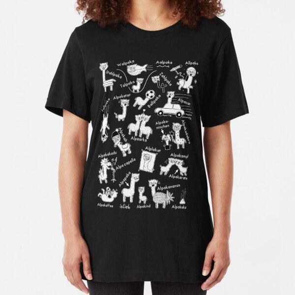 Alpakas Slim Fit T-Shirt