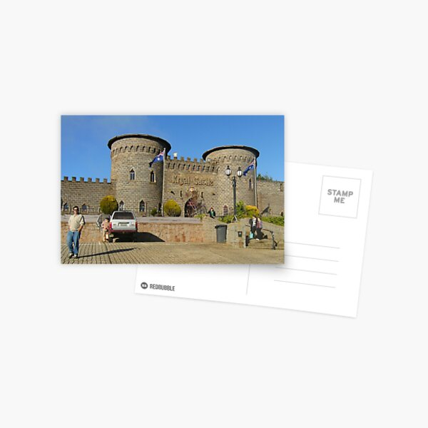 Kryal Castle - Ballarat (Turning up - First There!!!!) Postcard
