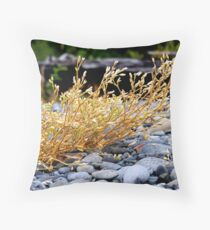 Riverbottom Brittle Throw Pillow