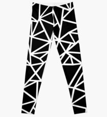 Abstraction Outline Thick  Leggings