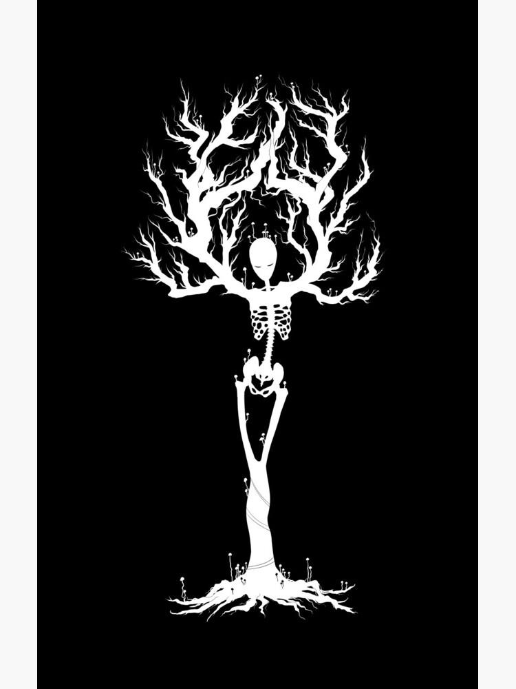 Tree of Death (White Vers.) by JinnyMoose