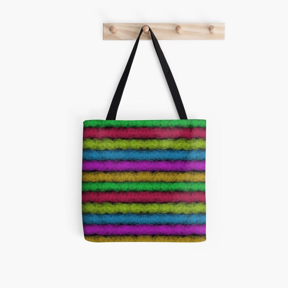 Colorful Fleece of Wool (H) Tote Bag