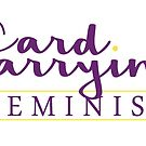 Card Carrying Feminist by CardCarryingBks