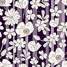 Purple field by Elsbet
