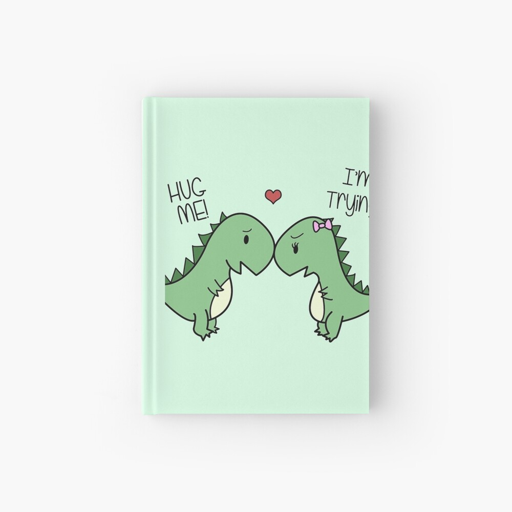 Dino Love! (Hug Me!) Hardcover Journal