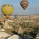 Ballooning in Turkey by Lyn Fabian