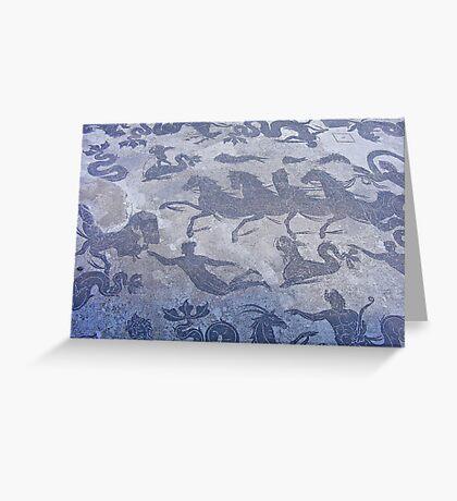 FLOOR MOSAIC Greeting Card
