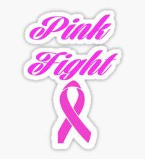 pink fight breast cancer  Sticker