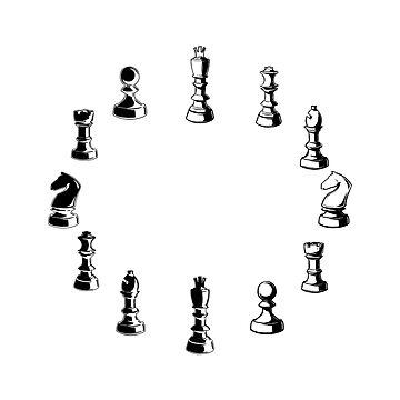 Schachuhr für Schachliebhaber von KsuAnn