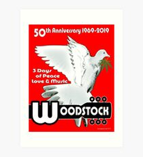 Woodstock: 3 Days of Peace, Love & Music Art Print