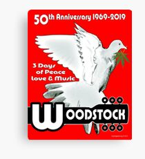 Woodstock: 3 Days of Peace, Love & Music Canvas Print