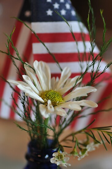 Flower & Flag by EmmaLeigh