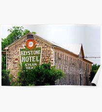 Old Keystone Hotel Poster