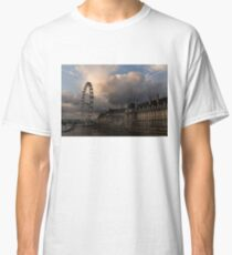 Sky Drama Around the London Eye Classic T-Shirt