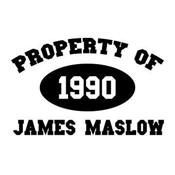 Property of James Maslow by amandamedeiros