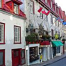 Old Quebec Shopfronts by Dana Roper