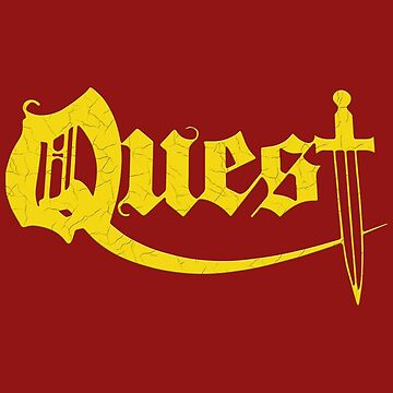 Quest - Heavy Metal Logo by tomastich85