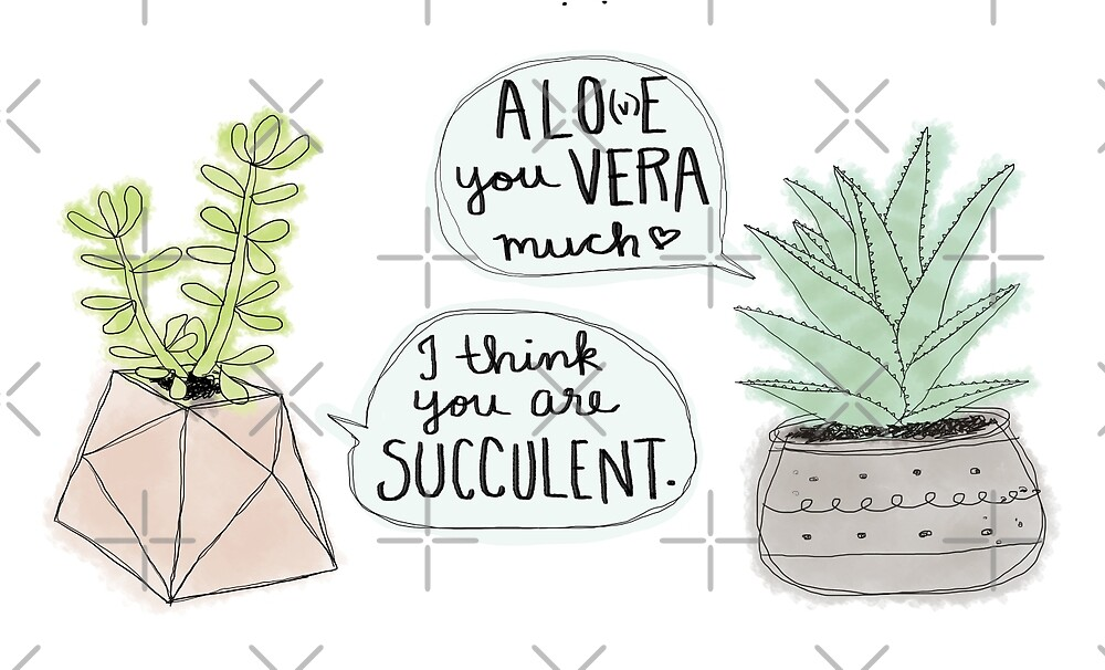 These Puns are Succulent ;) by Jamie Stryker