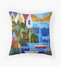 BATTERY POINT, HOBART, TASMANIA Throw Pillow