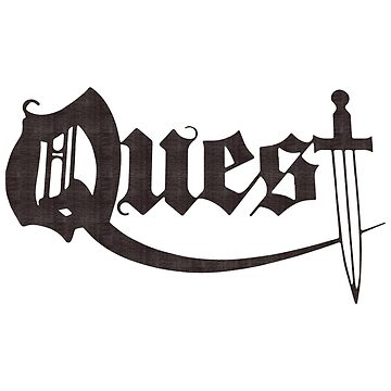 Quest - Heavy Metal Logo Version 3 by tomastich85