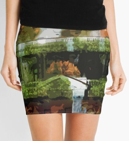 Waterfalls in the Clocktower Mini Skirt